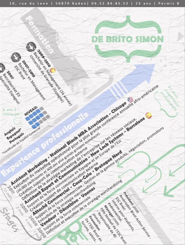 CV DE BRITO Simon